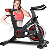 Dripex Heimtrainer Cardio, Fahrrad, Spinning, Fitness, Sport, Bauchmuskeln, Rücken, Arme,...