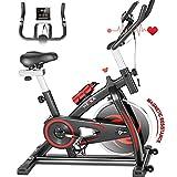 HEKA Heimtrainer Fahrrad, Spinning Bikes, Indoor Hometrainer, Ergometer Heimtrainer, Fitnessbikes...